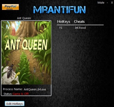 Ant Queen cheats