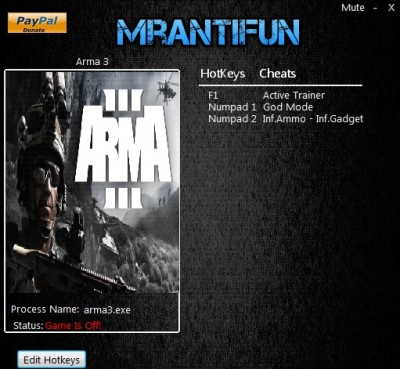 Arma 3 Apex cheats