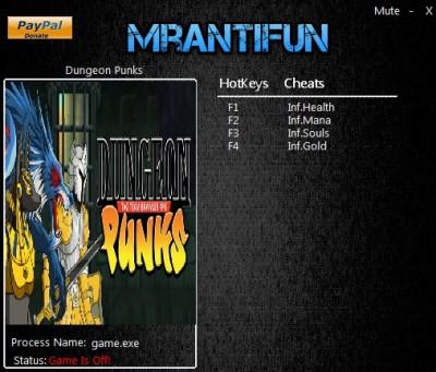 Dungeon Punks cheats