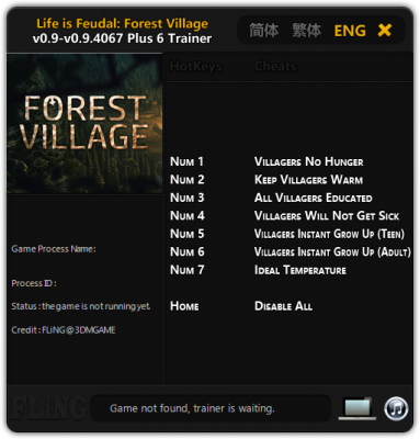 Life is Feudal Forest Village cheats