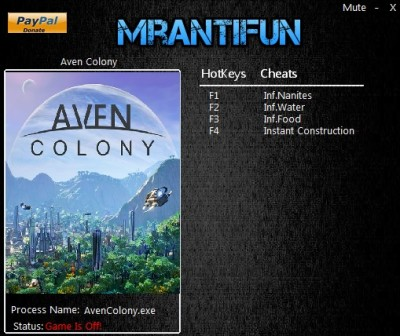 Aven Colony cheats