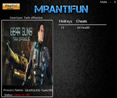 GEARGUNS - Tank offensive trainer