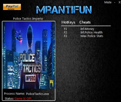 Police Tactics Imperio cheats