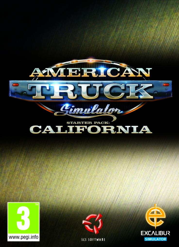 American Truck Simulator savegame