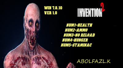 Invention 2 cheats