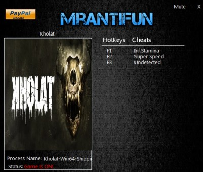 Kholat cheats