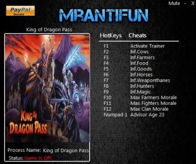 King of Dragon Pass cheats