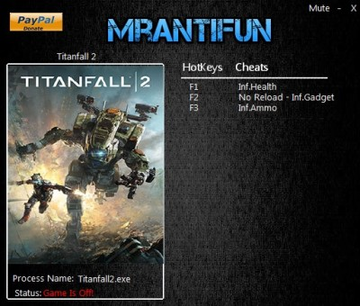 Titanfall 2 cheats