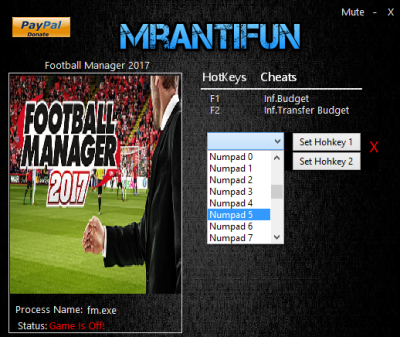 Football Manager 2017 cheats