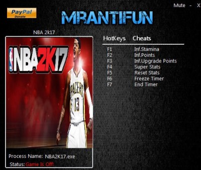 NBA 2K17 cheats