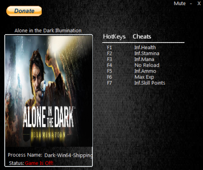 Alone in the Dark Illumination cheats