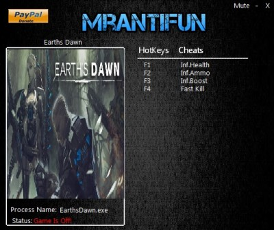 Earths Dawn cheats