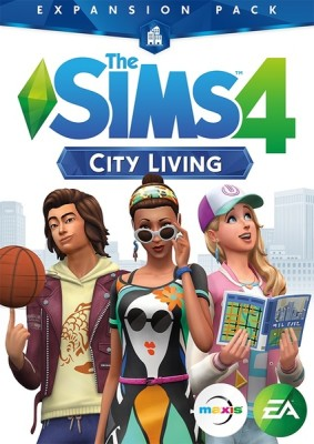 Sims 4 City Living cover