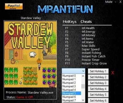 Stardew Valley 1.10 cheats
