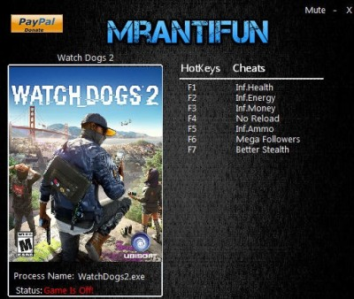 Watch_Dogs 2 cheats