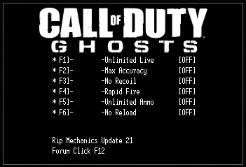 Call Of Duty - Ghosts cheats