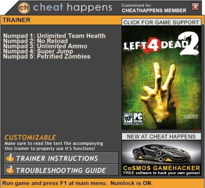 Download left 4 dead 2 trainer 2.0.2.7 41